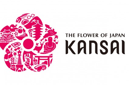 """Hanayaka Kansai: The Flower of Japan - Kansai"" Logo"